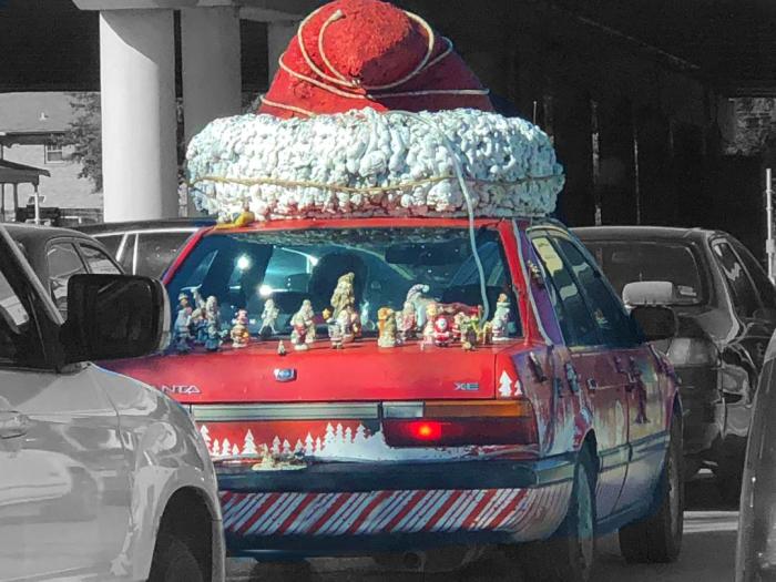 santa car